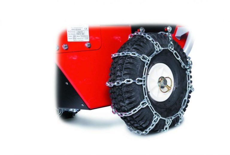 grandinės motoblokų ratams